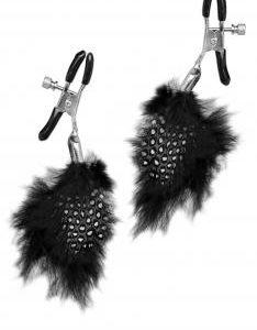 Fetish Fantasy Limited Edition Feather Nipple Clamps
