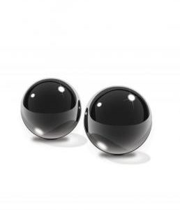 Fetish Fantasy Black Glass Ben-Wa Balls Small