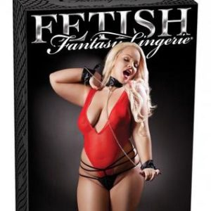 Fetish Fantasy Red Hot Teddy Set Diva