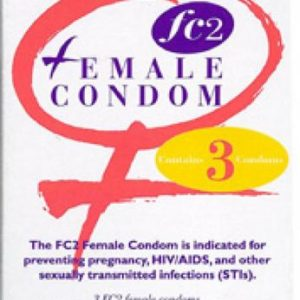 Reality Female Condoms 3 Pack