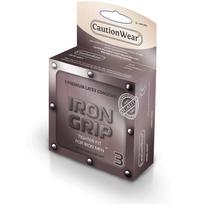 Iron Grip Snugger Fit Lubricated Condom 3 Pack