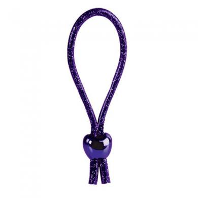 Adjustable Loop Cock Ring - Purple