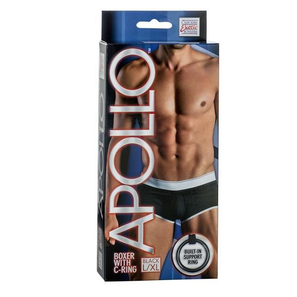Apollo Boxer with C-Ring Black L/XL