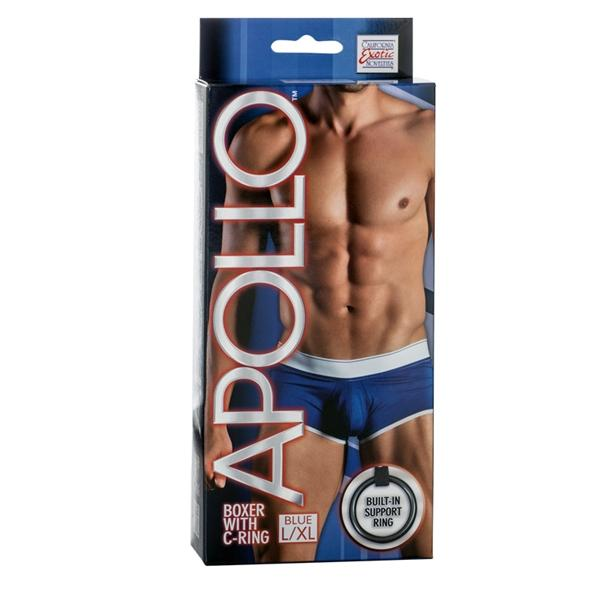 Apollo Boxer with C-Ring Blue L/XL