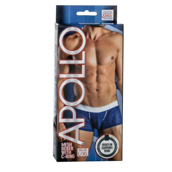 Apollo Mesh Boxer with C-Ring Blue L/XL