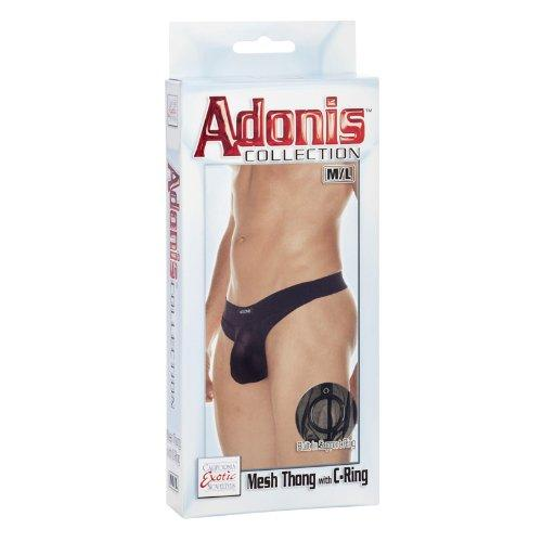 Mesh Thong with C- Ring M/L