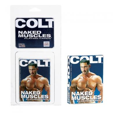 COLT Naked Men Playing Cards