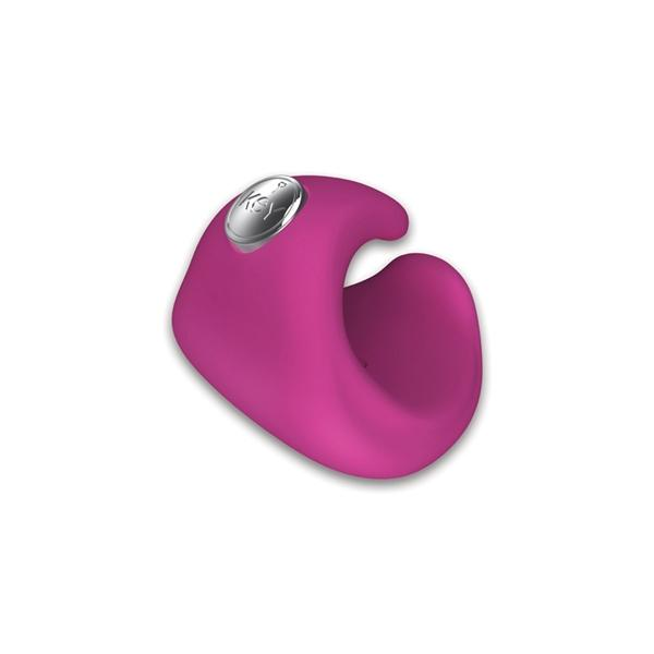 Pyxis Silicone Rechargeable Finger Massager Waterproof - Pink