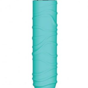Charms Silk Silicone Vibrator Waterproof 3.5 Inch - Blue