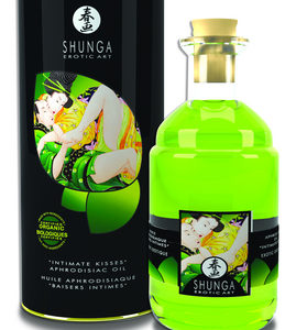 Aphrodisiac Warming Oil - ORGANICA/Green Tea
