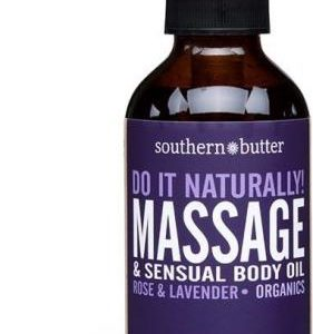 Body & Massage Oil Rose & Lavender 4.5 oz