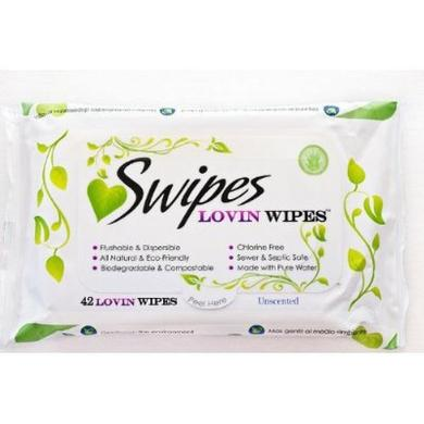 Swipes Unscented 42 Count