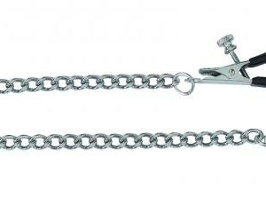 Adjustable Tapered Tip Nipple Clamps With Link Chain