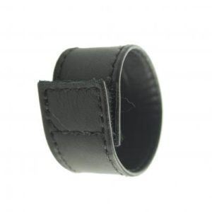 C And B Gear Velcro Stretcher Leather 1 Inch - Black