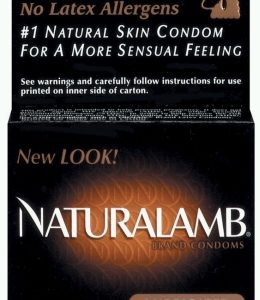 Trojan Natural Lamb Condoms 3Pk.