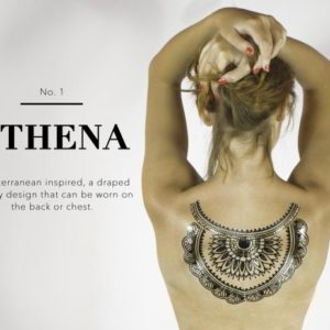 Athena Body Tattoo