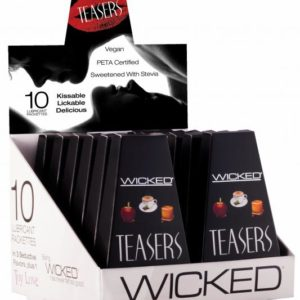 Wicked Teasers Lubricant 12 Piece Display