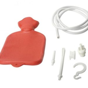 Bag System Economy Enema Set Red